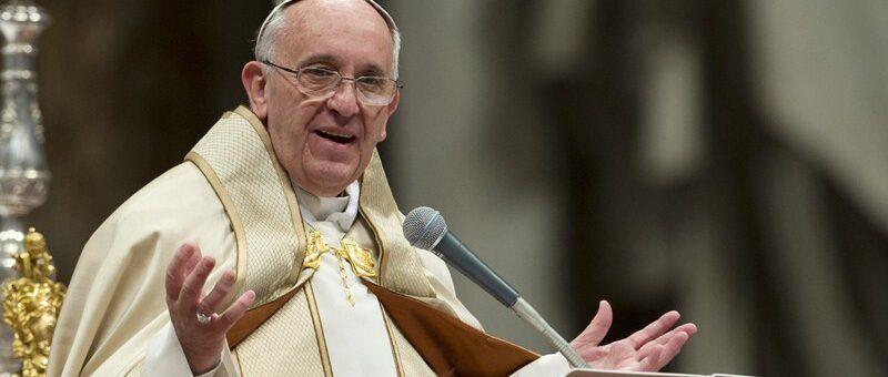 Papa Franjo govori